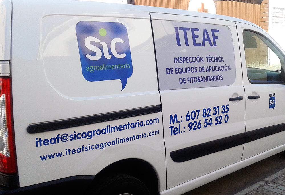 Inspección ITEAF en Castilla-La Mancha. Toledo. SIC Agroalimentaria
