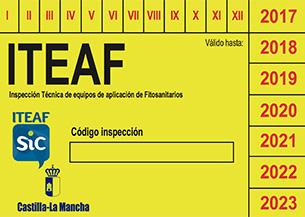 Pegatina ITEAF SIC Agroalimentaria.