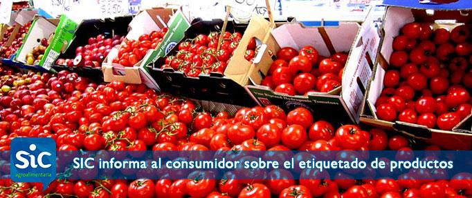 SIC Agroalimentaria informa al consumidor sobre el etiquetado de productos